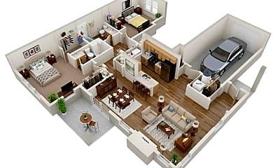 Living Room, 646 Preservation Trail, 0