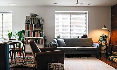Living Room, 5401 9th St NW 201, 1