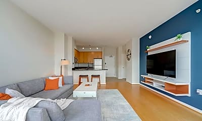 Living Room, 437 New York Ave NW, 1