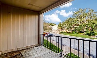 Patio / Deck, Magnolia Oaks Apartments, 2