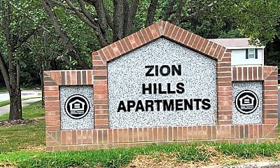 Zion Hills Apartments, 1
