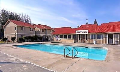 Pool, Summerfield Apartments, 0