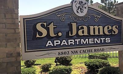 Saint James Apartments, 1