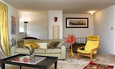 Living Room, Pointe Breeze Apartments, 0