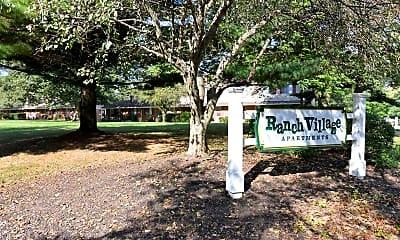 Community Signage, Ranch Village, 2