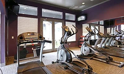 Fitness Weight Room, Lure at Cedar Springs, 2