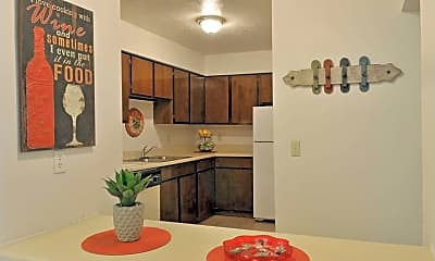 Kitchen, The Lodge Apartments, 1