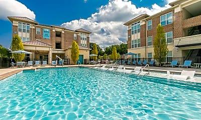 Pool, 1701 North Apartments, 0