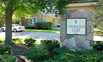 Community Signage, Covington Club Apartments, 2