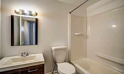 Bathroom, Lofts at the Daily Record, 2