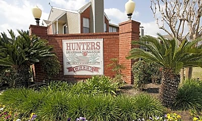 Community Signage, Hunter's Creek, 1