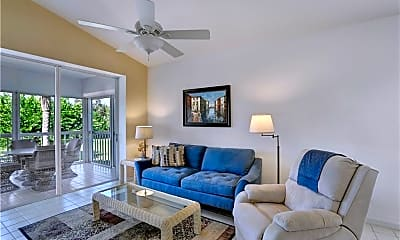 Living Room, 8161 Twelve Oaks Cir 524, 1
