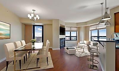 Living Room, 500 E Grant St 1811, 0