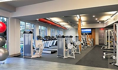 Fitness Weight Room, Cortland at Phipps Plaza, 2