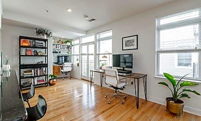 Living Room, 1221 Shackamaxon St, 1