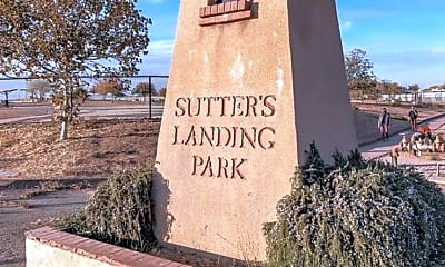 Community Signage, 2711 F St, 2
