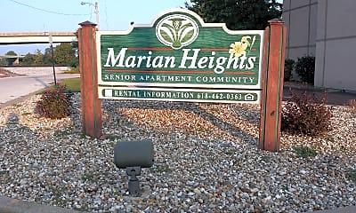Marian Heights, 1