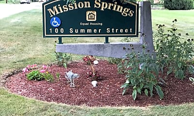 Mission Springs Housing, 1