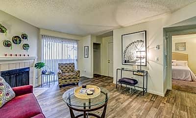 Living Room, Sunrise Springs Apartments, 1