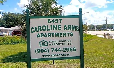 Caroline Arms Apartments, 1