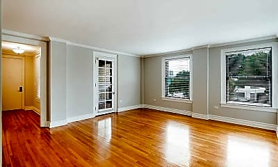 Living Room, Hogshead Apartments, 0
