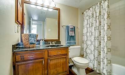 Bathroom, Preston Bend Apartments, 2
