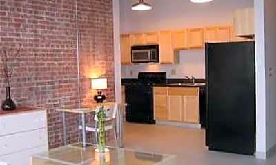 Kitchen, Union Street Lofts, 0