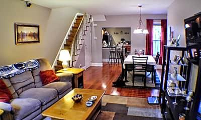 Living Room, 2210 St Albans St, 1