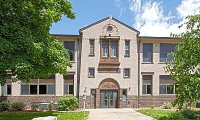 Building, Roosevelt School Apartments, 1