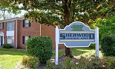Community Signage, Sherwood Apartments, 2