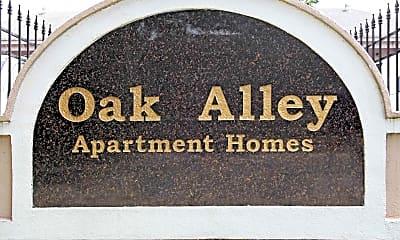 Community Signage, Oak Alley Apartments, 2
