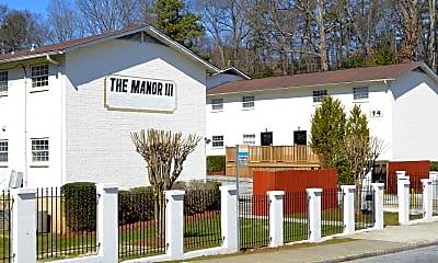 Building, Manor III Apartments, 0