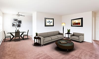 Living Room, Country Village, 1