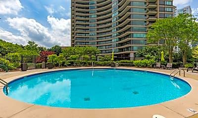 Pool, 700 Park Regency Pl NE 1707, 2
