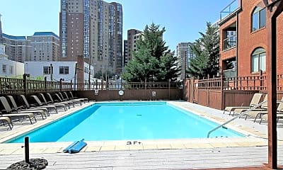 Pool, 1029 N Stuart St 206, 2