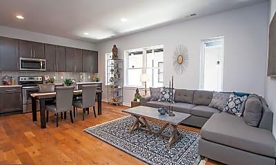 Living Room, 5938 Henry Ave 35, 1
