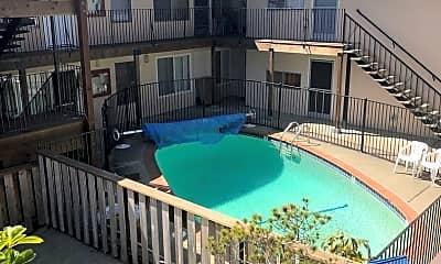 Pool, 1626 Dwight Way A-M, 0