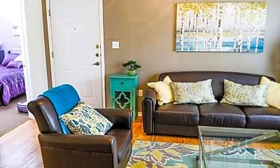 Living Room, The Arbors of Killeen, 1