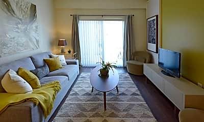Living Room, Village at Lake Worth, 1