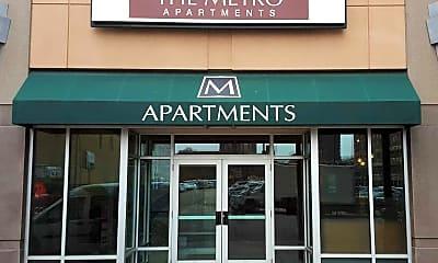 Community Signage, The Metro Apartments, 0