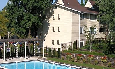 Pool, Pavilion, 1