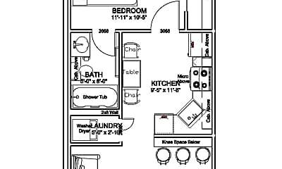 Bedroom, 1302 Maple St, 2