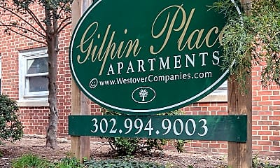 Community Signage, Gilpin Place Apartments, 0