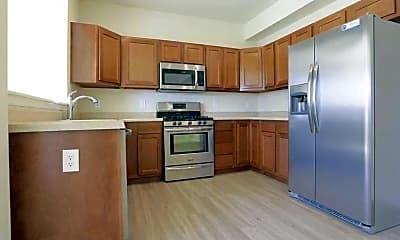 Kitchen, Progress Square Townhomes, 1