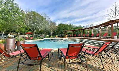 Pool, 8701 Bluffstone Cove, 2