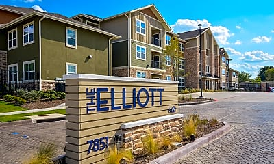 Community Signage, The Elliott Senior Apartments, 1