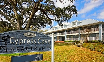 Community Signage, Cypress Cove Luxury Beach Front Apartments, 0