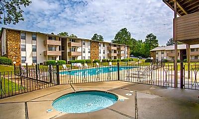 Pool, Ascot Apartments, 0