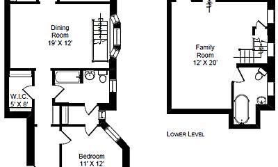 Bedroom, 2920 N Burling St, 2