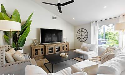 Living Room, 7448 E Windrose Dr, 0